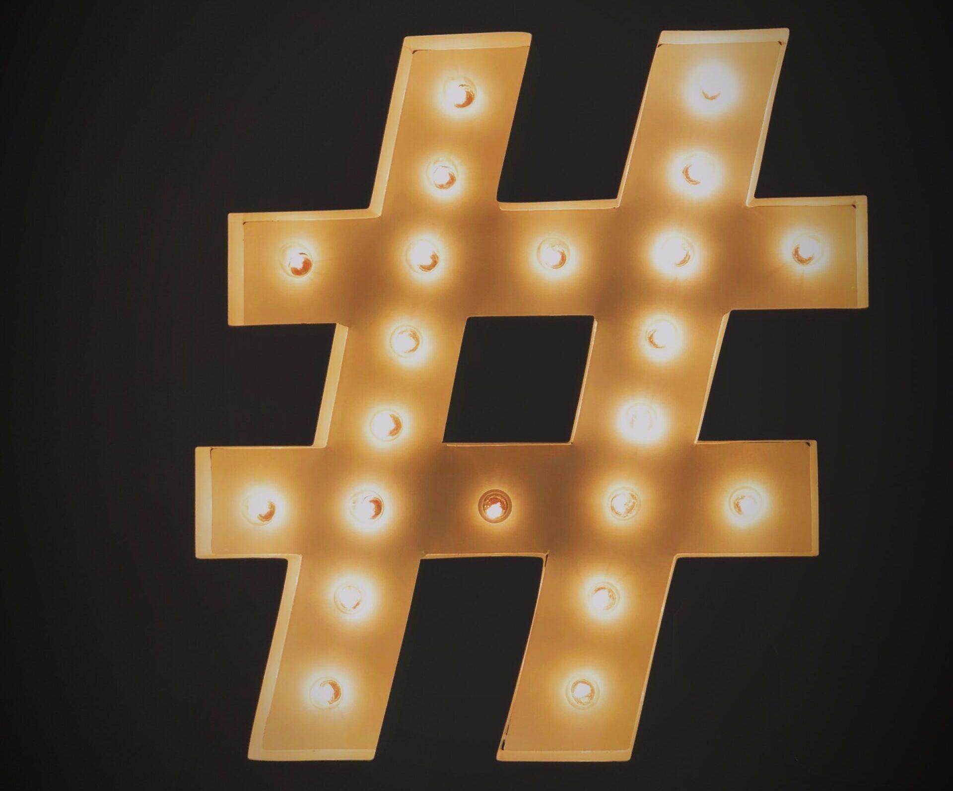 Hashtag on Instagram